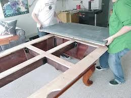 Billiard table moves in Raleigh North Carolina