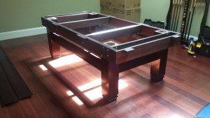 Correctly performing Billiard table installations, Raleigh North Carolina